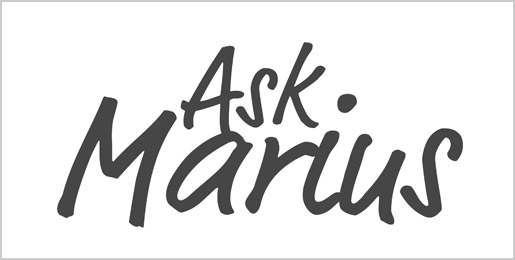 Ask Marius logo